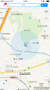 """Ikegami Tokyo Yahoo Japan Maps. As usual, Yahoo Japan has the best data quality of the """"big three""""."""