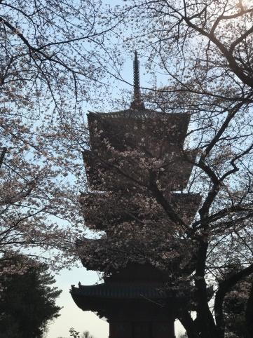 Ikegami Honmon-ji five-story pagod