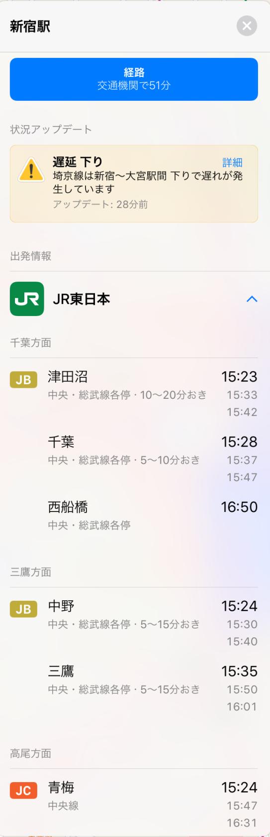 Shinjuku Station train line code rectangular icons May 25