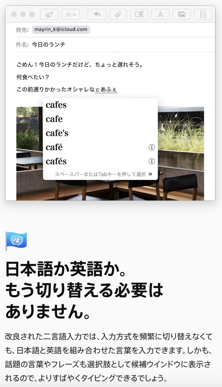 english japanese bilingual input